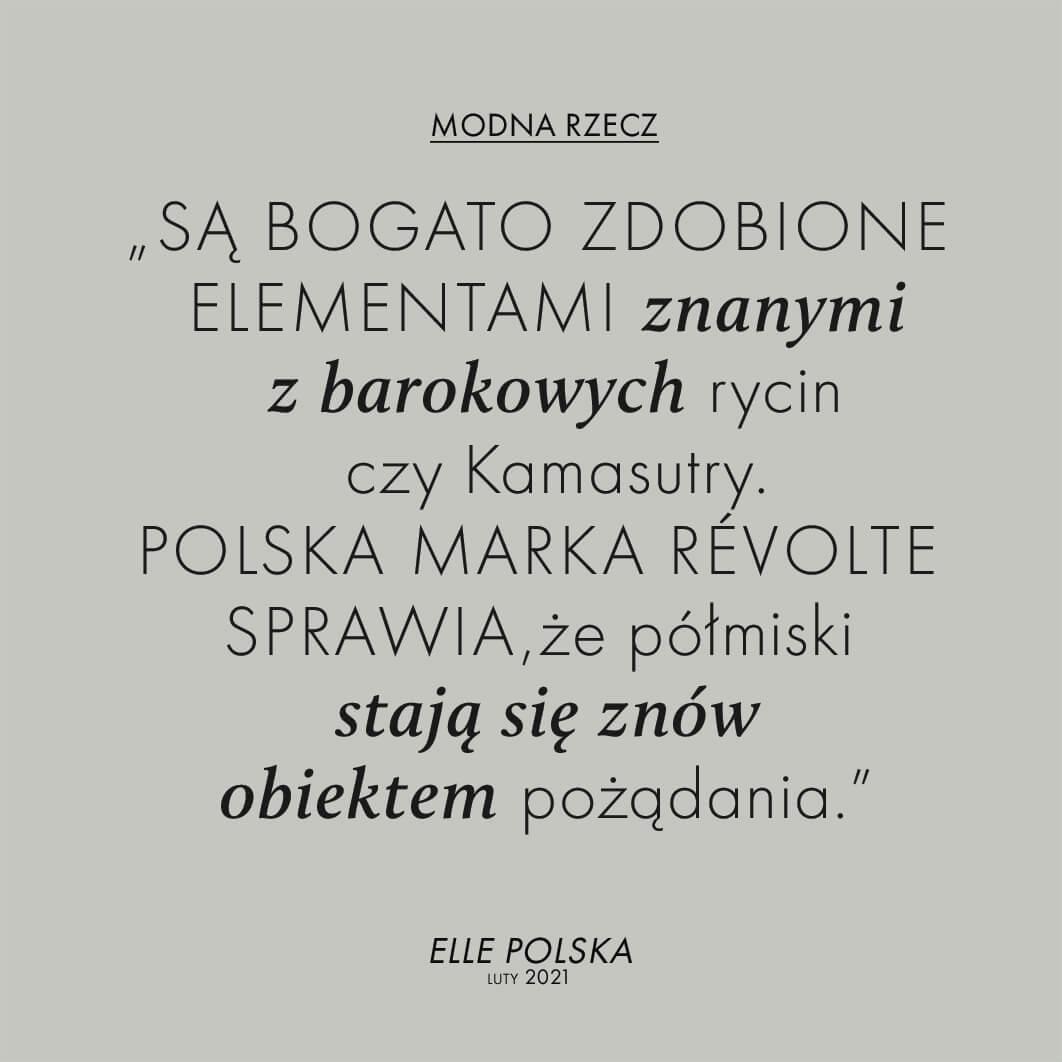 ELLE POLSKA O RÉVOLTE